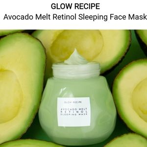 NIB GLOW RECIPE AVOCADO RETINOL SLEEPING MASK